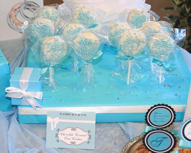 Tiffany cake pops