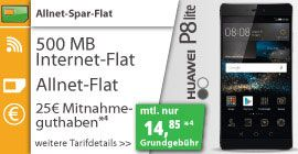 500MB Klarmobil Allnet-Spar-Flat für 14,85€ mit Smartphone *D-Netz* http://www.simdealz.de/vodafone/klarmobil-allnet-spar-flat-mit-smartphone/