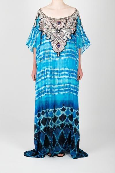 Embellished Kaftan Dress Design KC-SK75A-L