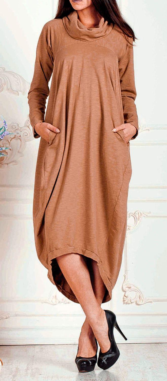 """Купить Платье """"Pear"""" - трикотажное платье, платье из трикотажа, платье с драпировкой, платье с длинным рукавом"""