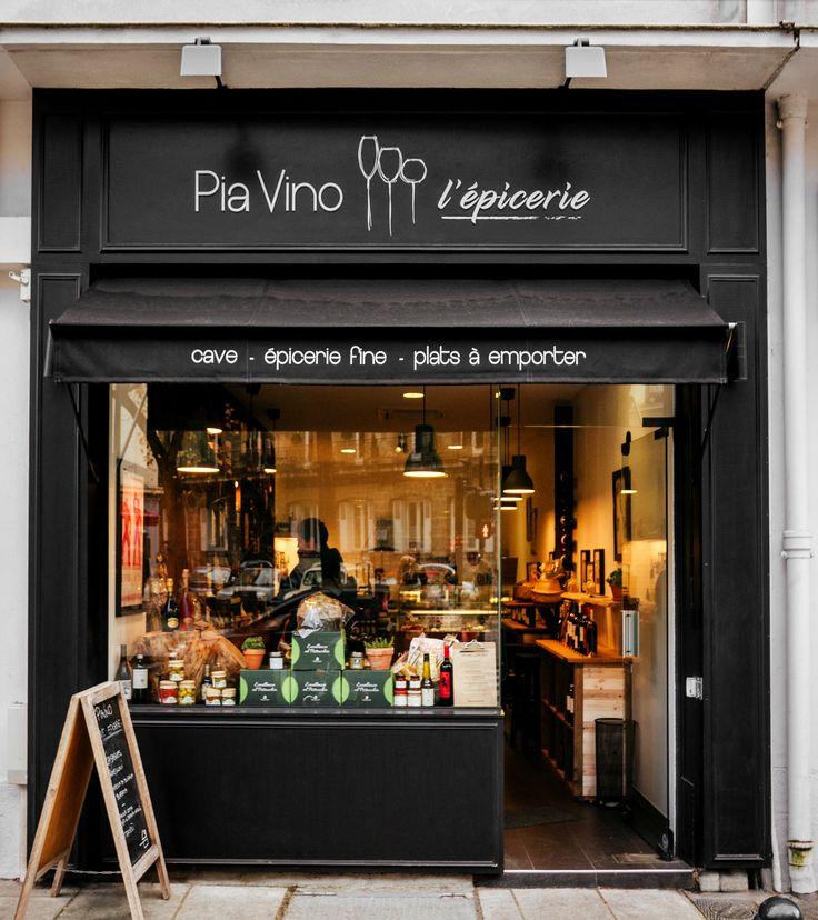 PIAVINO L'EPICERIE Epicerie fine Franco-Italienne/ Rue Copernic / Nantes @johannamoulin
