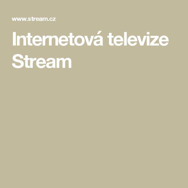Internetová televize Stream