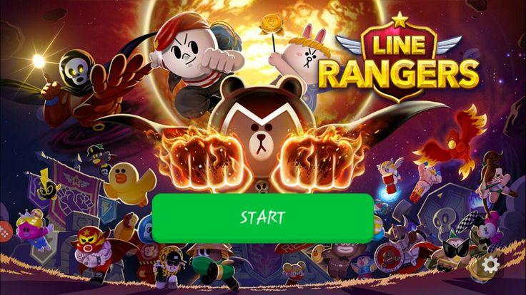 Line Rangers Splash Screen #splash #screen #linerangers #alloisciustan