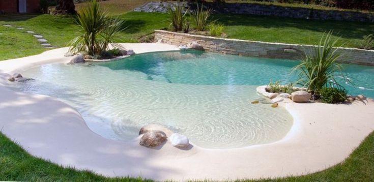 Badezimmer Ideen Garten Badezimmer Garten Ideen Summer Sun Sunshine And Off In 2020 Natural Swimming Pool Beach Entry Pool Swimming Pool Designs