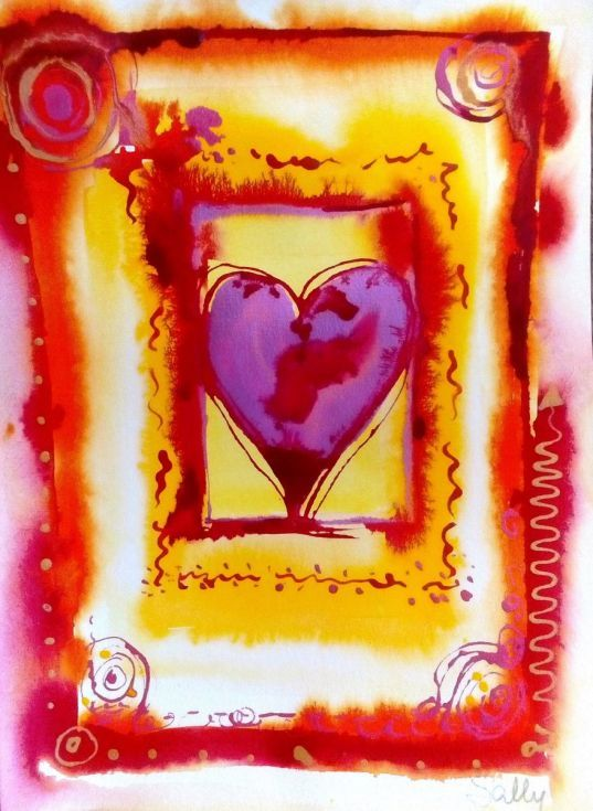 Buy You Are My Heart's Desire, Mixed Media painting by Sally Scott on Artfinder. Discover thousands of other original paintings, prints, sculptures and photography from independent artists.