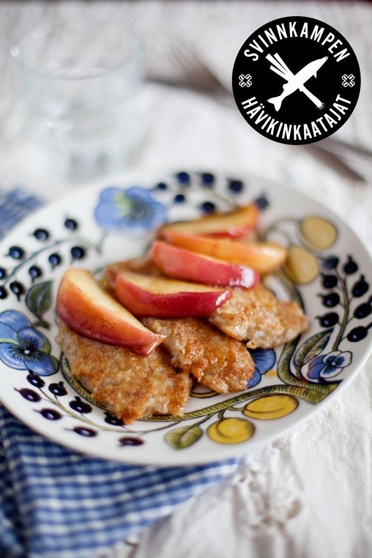 Stekt gröt med äpple: http://martha.fi/svenska/start/recept/view-51918-851