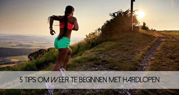 Soms heb je een periode dat je in een sportieve vibe zit. Als je eenmaal stopt met hardlopen, dan is het lastig om er weer mee te beginnen.