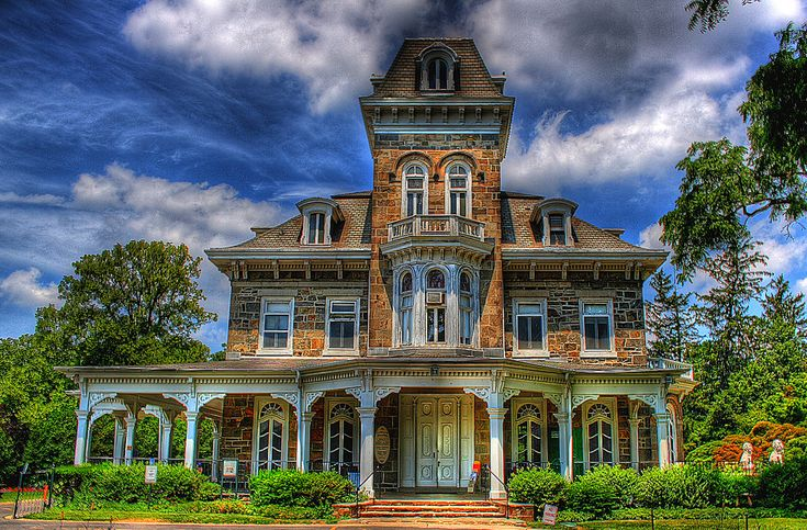 Mansion At Cylburn Arboretum In Baltimore Maryland н мѕу