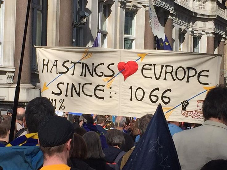15 fantastically fun protest signs from the Unite for Europe march
