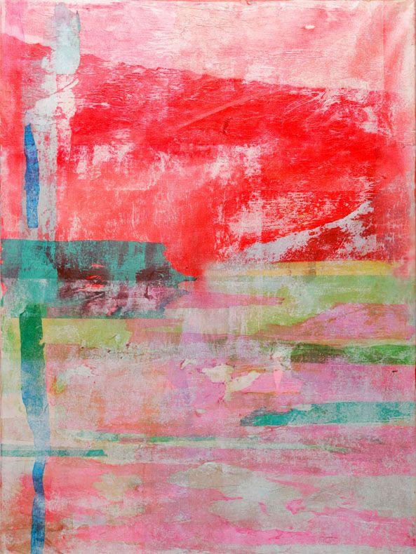 """NY artist Rai Alexandra--""""Traces of Frankenthaler"""""""