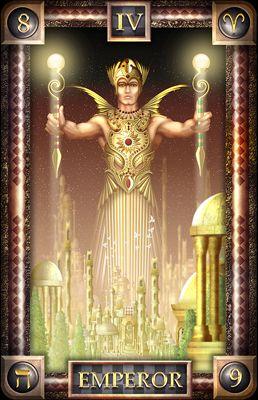 Tarot of Dreams - Emperor