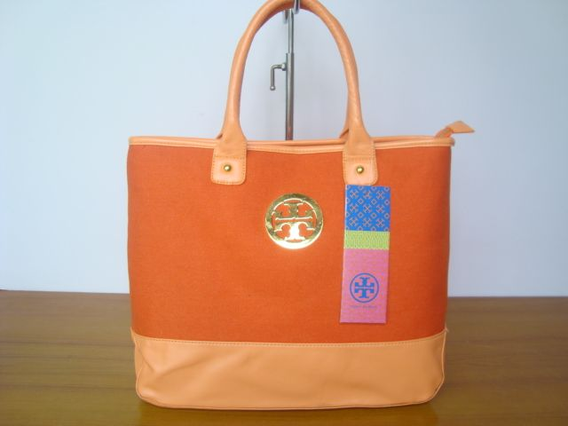 Cheap Tory Burch Lady Orange Handbags