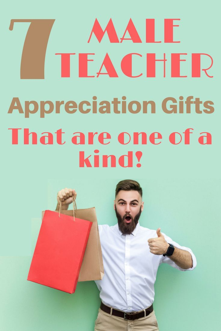 Male teacher appreciation gifts. Click for 7 ideas perfect for end of the year or Christmas gifts. #giftsforteachers #teacherappreciation  sc 1 st  Pinterest & 7 Unique Male Teacher Appreciation Gifts He Will Love | Teacher ...