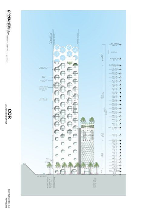 COR Building, Miami, 2009 - Oppenheim Architecture + Design, Buro Happold Engineering, Ysreal Seinuk
