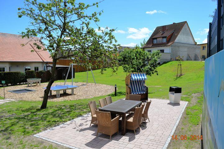Geschmackvolle Ferienwohnung mit großem Garten in