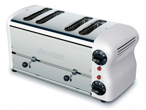 Rowlett Esprit 2 x 2 Wide Slice Breakfast Toaster in White - Toasters - Electronics
