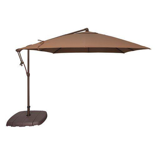 Treasure Garden 8.5 ft. O'bravia Cantilever Patio Umbrella   from hayneedle.com