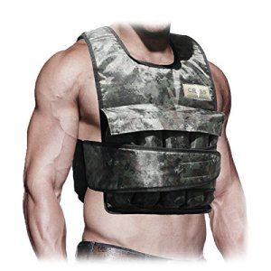 CROS101 40 Lbs Weighted Vest - Your workouts will have an added resistance and a new feel to it, which will increase your strength and endurance. The Weight Vest is very compact, sturdy and tightens up onto your body.