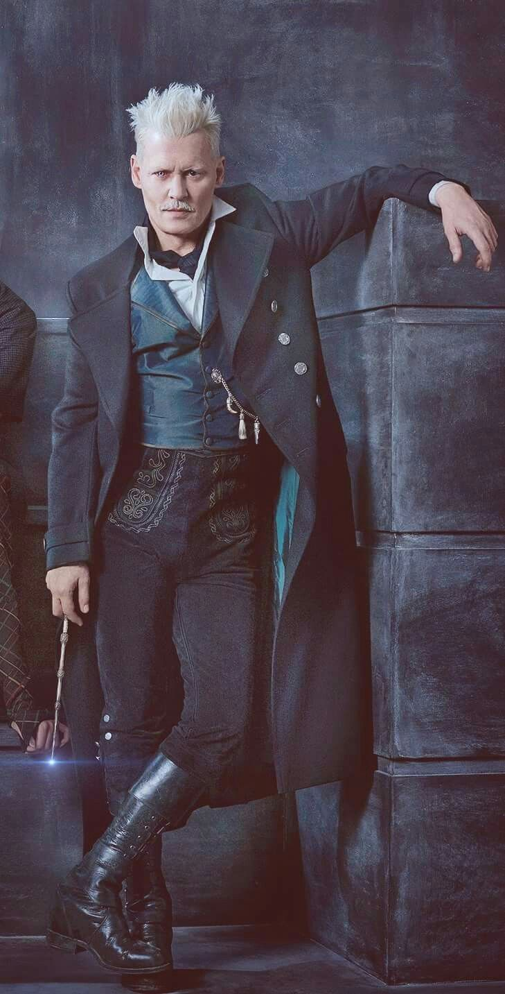 Gellert Grindelwald... You've got to be pretty confident in yourself to rock those pants. https://presentbaby.com