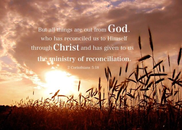Until we are wholly one with the Lord, being in Him and allowing Him to be in us absolutely, we shall continue to need the ministry of reconciliation, the ministry with which Paul was commissioned. Paul was commissioned with the work of bringing the believers into God in a way that was absolute and practical. (Life-study of 2 Corinthians, msg. 39)
