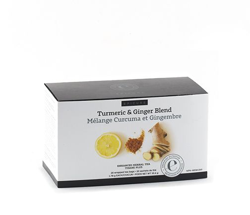 Turmeric & Ginger Enhanced Herbal Tea