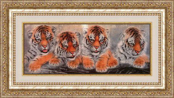 Работа «Тигрята»