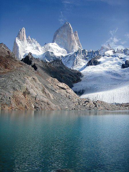Fitz Roy, Cordillera de los Andes