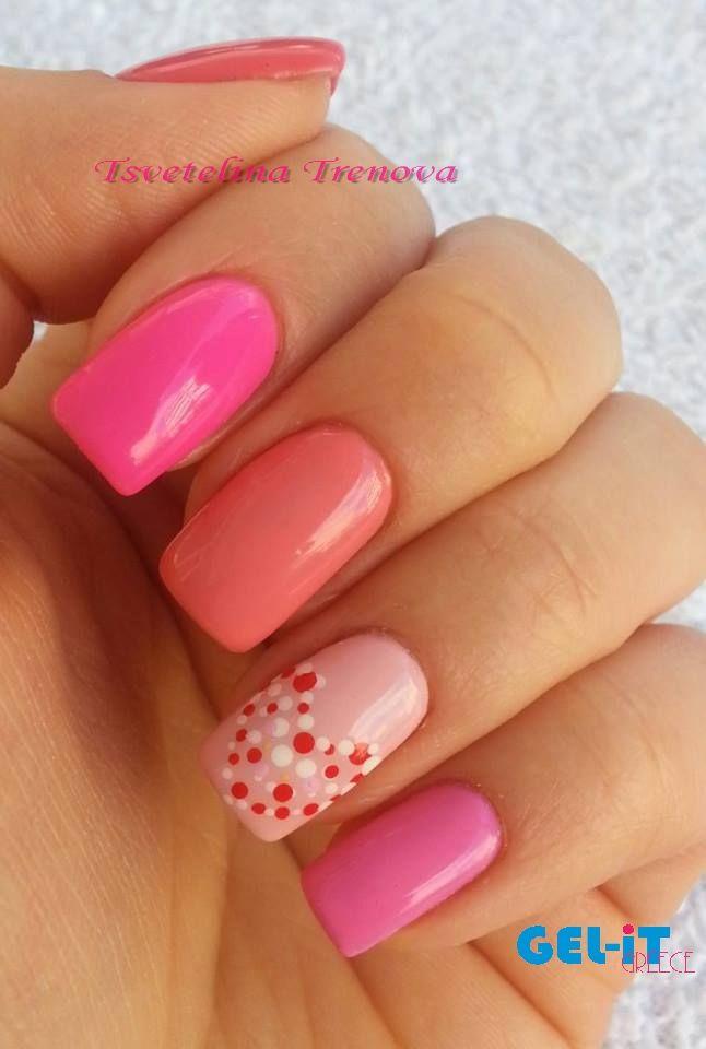 Nails by Tsvetelina Trenova with GEL.iT UV LED Soak off Gel Polish