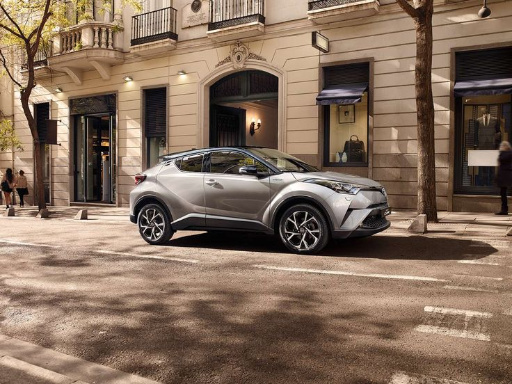 New Toyota C-HR, Coupe High Rider Hybrid Crossover