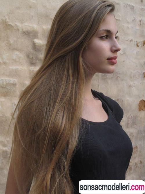 Küllü sarışın saç rengi