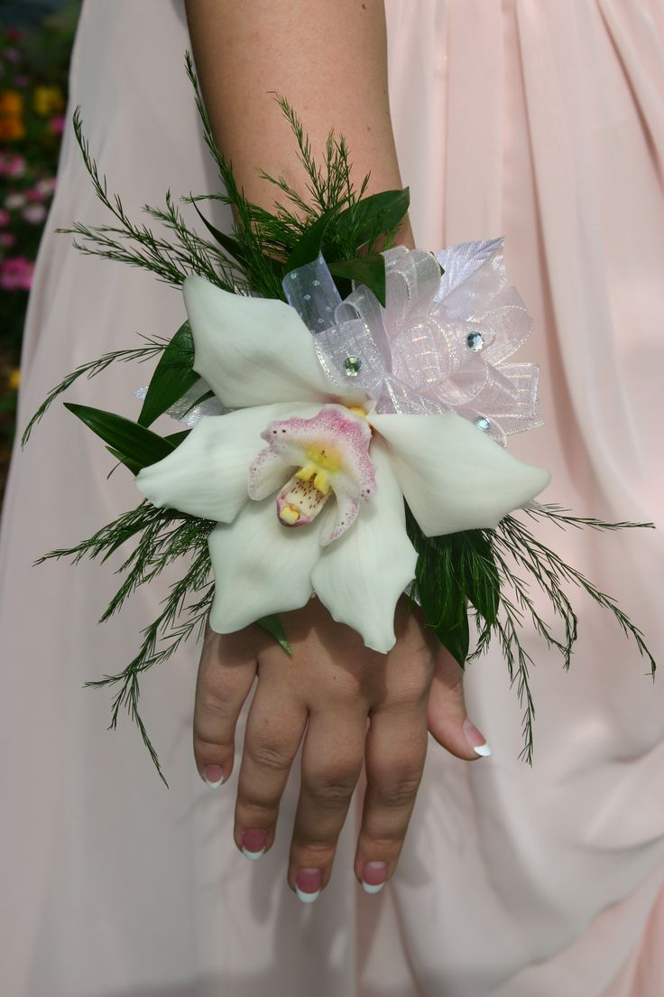 Prom Photography, orchid corsage