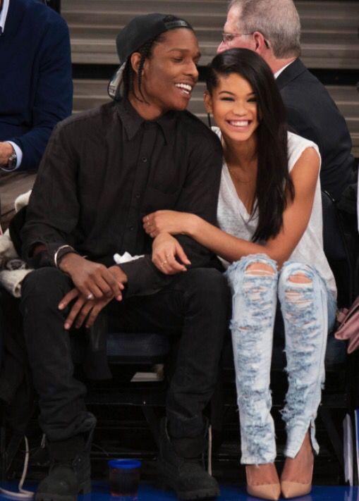 A$AP Rocky & Chanel Iman