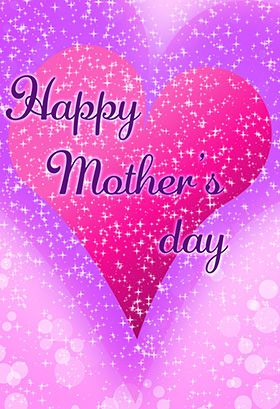 """""""Happy mothers day """" printable card. Customize, add text and photos. print for free!"""