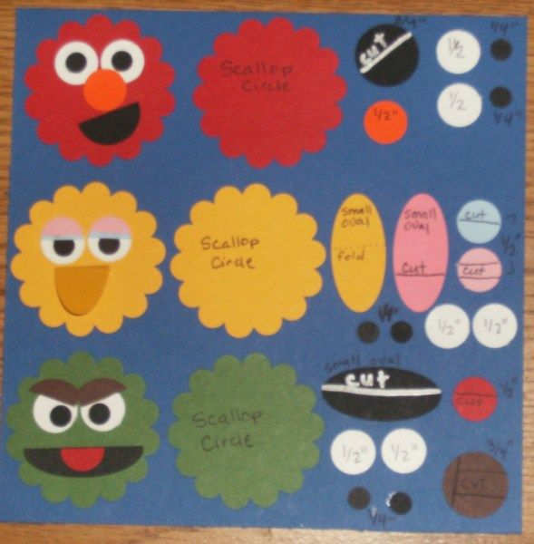 23 best images about sesame street b day on pinterest for Elmo arts and crafts