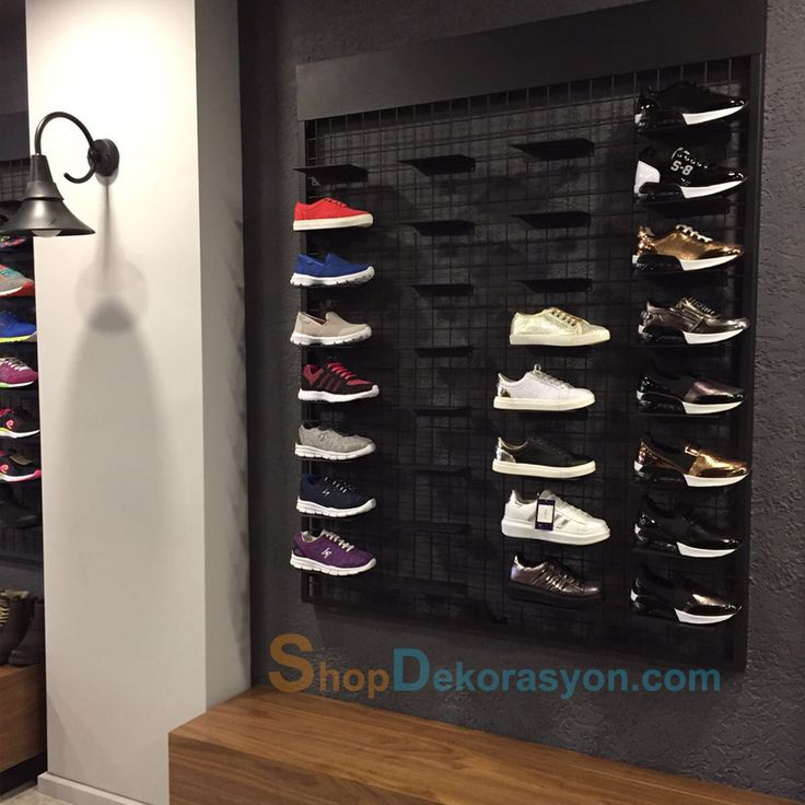 ayakkabı mağazası rafı KML805 9