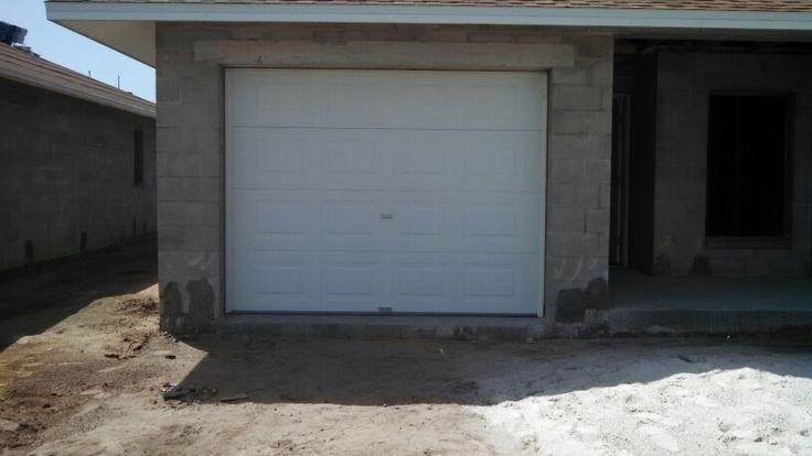 New garage door installation for #Florida Home Partnership in Ruskin, FL.