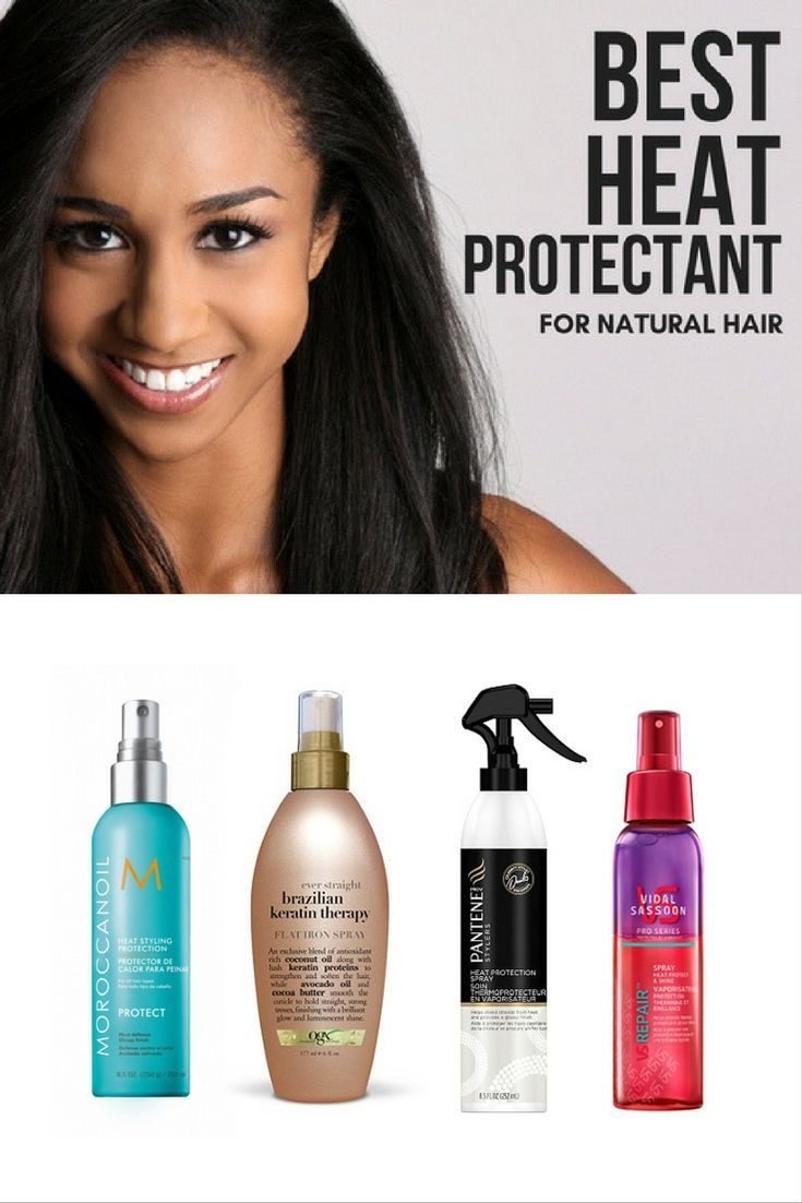 heat protector for hairs