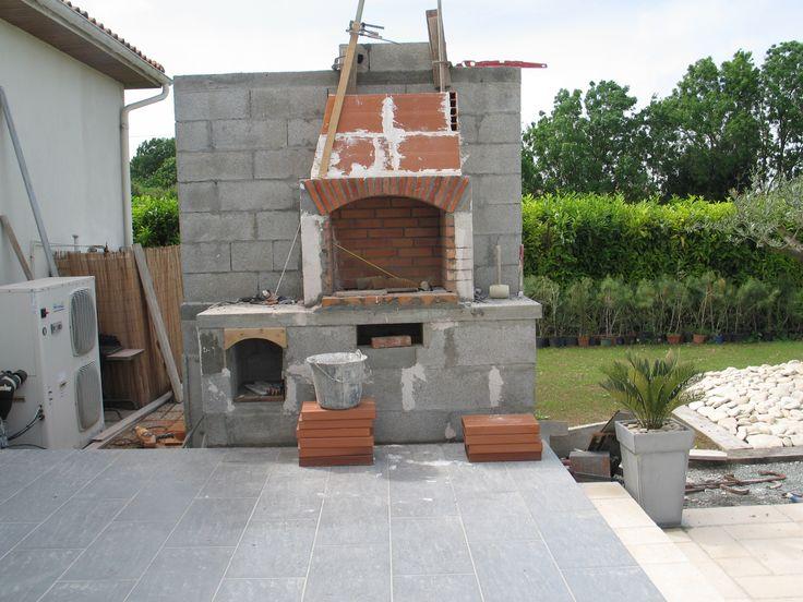 Barbecue briques et béton cellulaire - - Vous avez construit votre - beton cellulaire en exterieur