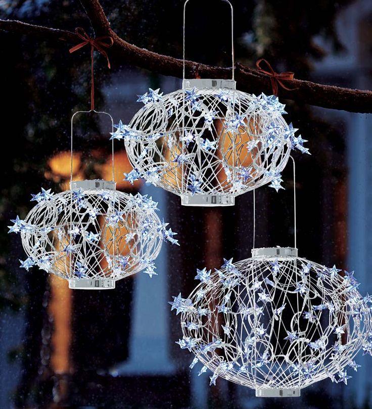 Eco Friendly Outdoor Christmas Decorations Star Solar Lanterns Affiliate
