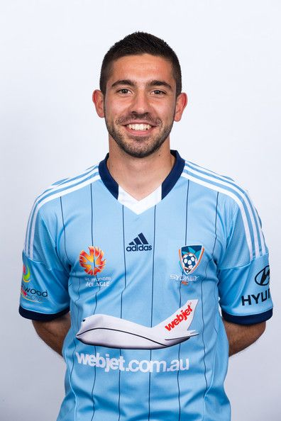 Peter Triantis in Sydney FC Headshots Session