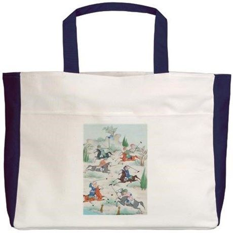 ANCIENT POLO Beach Tote on CafePress.com