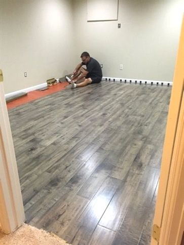Laminate Flooring In A Basement Basementideasfinished