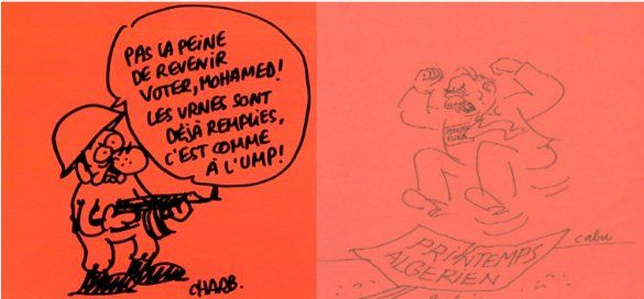 =======INDEPENDANCE DE LA KABYLIE=======: Hommage de Tamurt info à Charlie HebdoMerci Cabu, ...