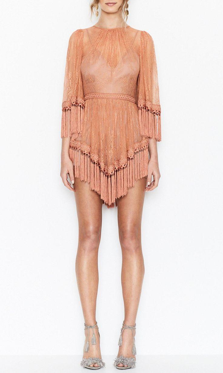 alice McCALL   alice McCALL Are You Ready Girl Mini Dress Amber - alice McCALL