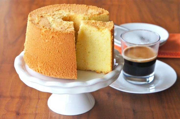 Orange Chiffon Cake!  My mom used to make this all the time!