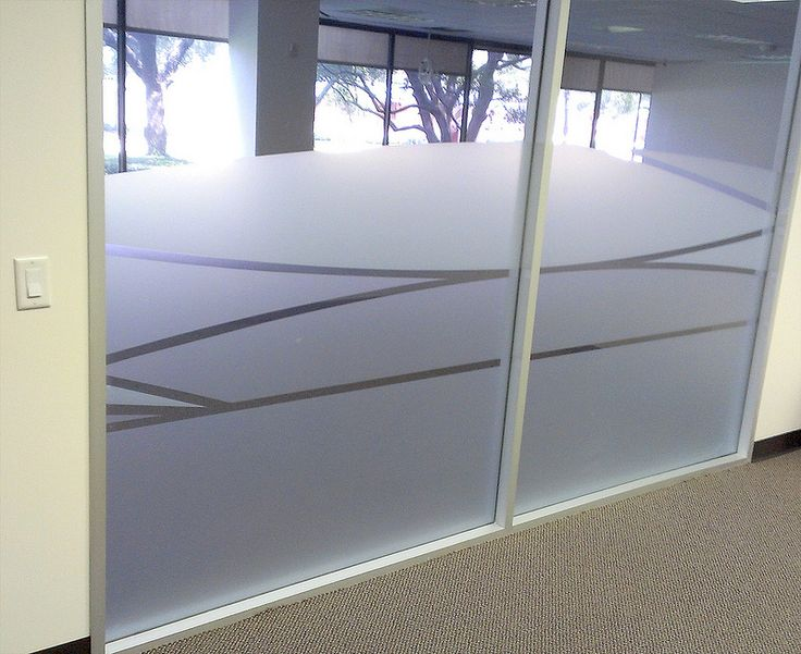 Frosted glass design patterns for office cut frosted film for Door n window designs