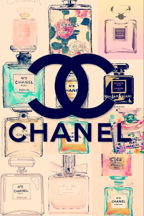 Cute Chanel Vintage Perfume Wallpaper | We Heart It