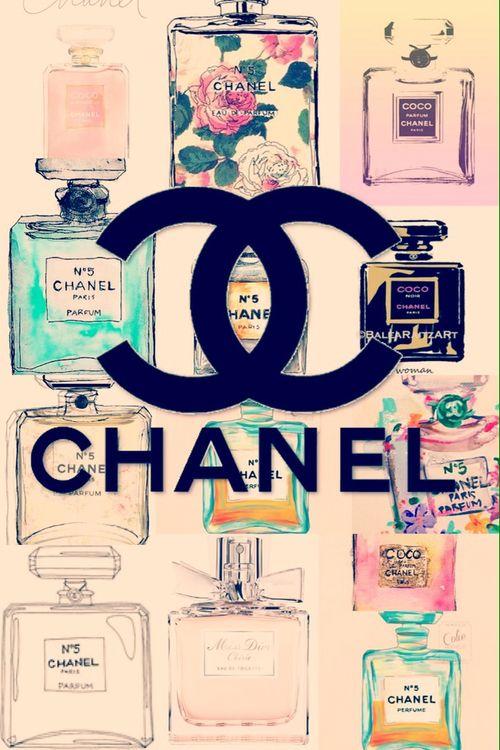 Cute Chanel Vintage Perfume Wallpaper   We Heart It