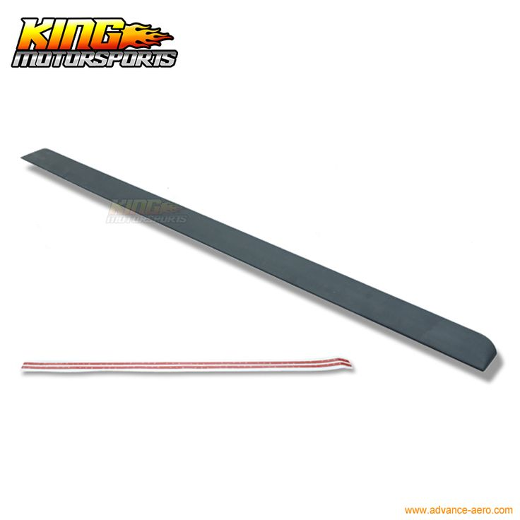 For 08-12 Honda Accord 8th F Style Unpainted Roof Spoiler