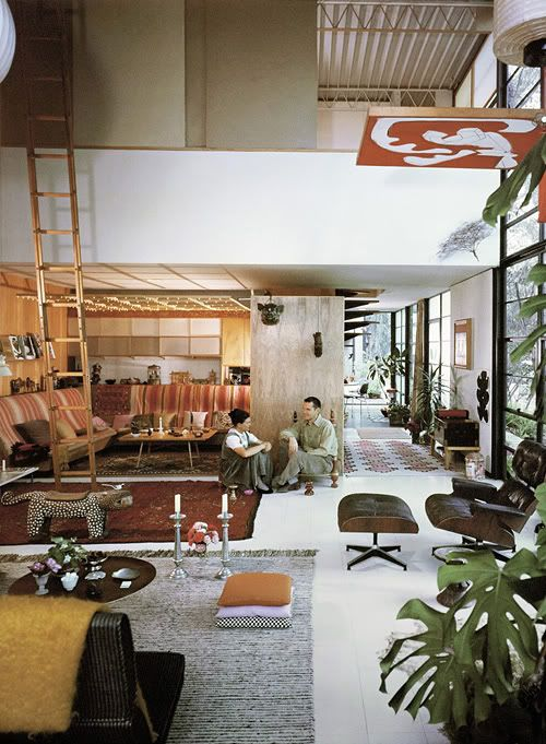 design traveller: mid-century modern    Charles and Ray Eames
